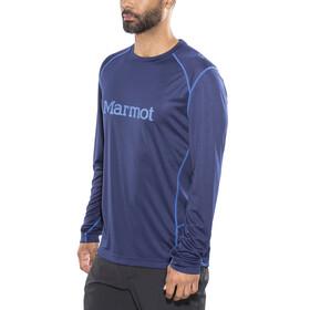 Marmot Windridge LS Graphic Shirt Men Arctic Navy/French Blue